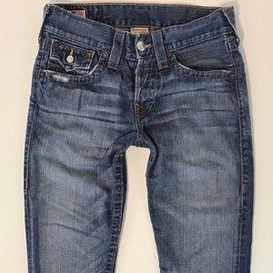 True Religion ZACH Mens Jeans SZ 29x27